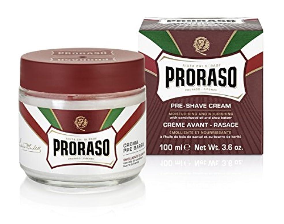 令状とげ人差し指PRORASO(ポロラーソ) プレシェーブクリーム ノーリッシュ
