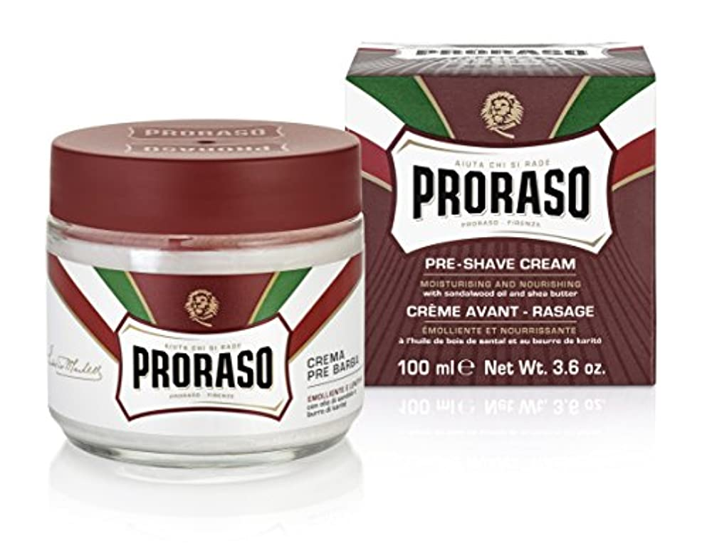 強制的北東徴収PRORASO(ポロラーソ) プレシェーブクリーム ノーリッシュ