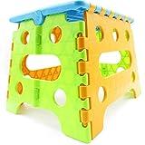 折りたたみ椅子 踏み台 軽量 携帯 コンパクト 持ち運び アウトドア チェア (小サイズ)