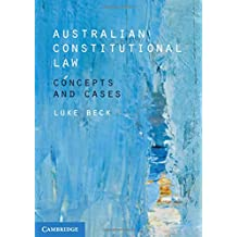 Australian Constitutional Law: Concepts and Cases