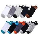 靴下 メンズ カジュアル メンズ 靴下 アウトドア スニーカーソックス 25~27 cm 5足/10足セット MJWY0005