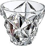 東洋佐々木ガラス センターピース クリア 約φ23.5×20cm ダビンチクリスタル デザイン エニグマ  CLP4828