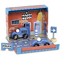 Wooden accessories in police box [並行輸入品]