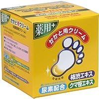 【セット品】トプラン つるつる 薬用 かかと用クリーム 110g入 4個
