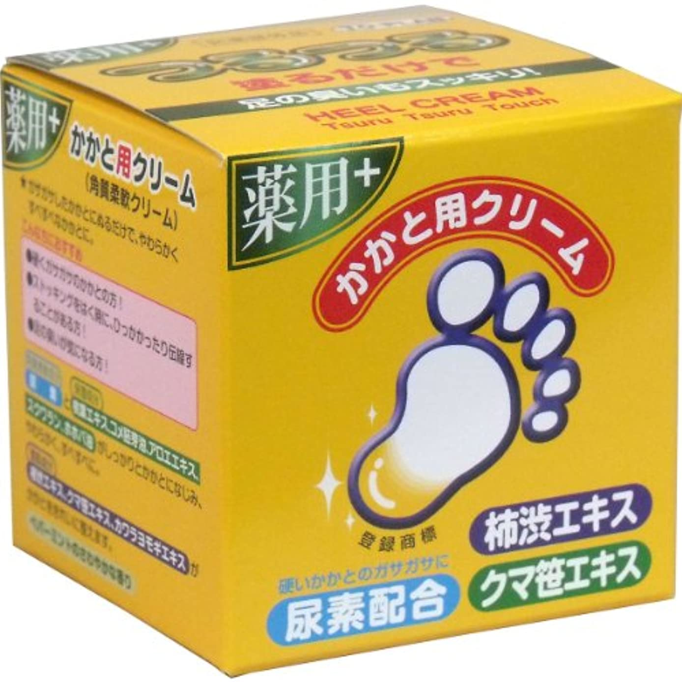 パテ安定お風呂を持っているトプラン つるつる 薬用 かかと用クリーム 110g入×20個セット