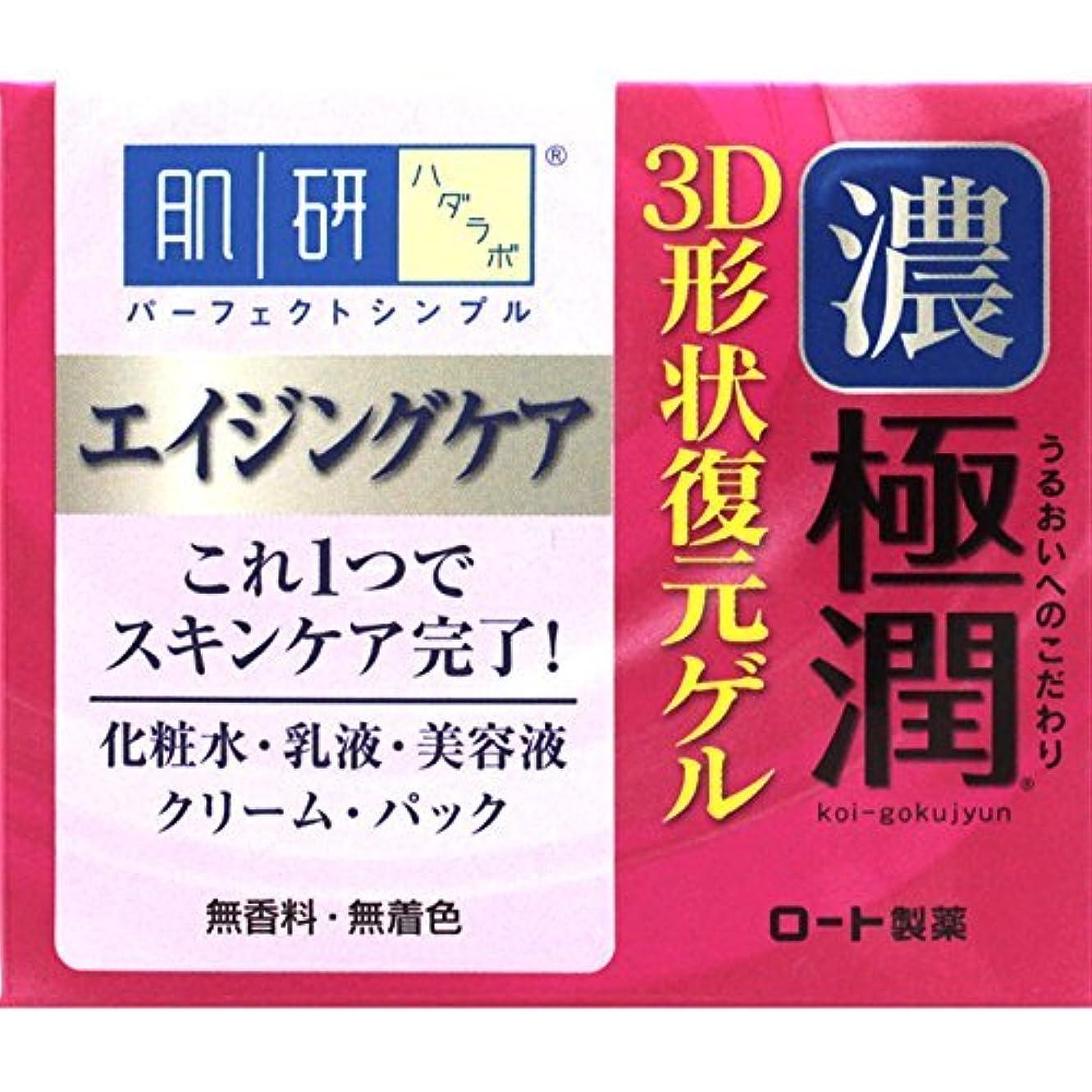 摂氏摂氏隠す肌研 極潤 3D形状復元ゲル 100g
