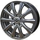 【適合車種:ホンダ ステップワゴン スパーダ(RF5~8)2003~2005 サマータイヤセット】 FALKEN ZIEX ZE914F 215/45R17 夏用タイヤとホイールの4本セット アルミホイール:AXEL アクセル ファイブ_メタルグレー 7.0-17 5/114 (17インチ サマータイヤセット)