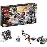 LEGO Star Wars: The Last Jedi Ski Speeder vs. First Order Walker Microfighters 75195 Playset Toy