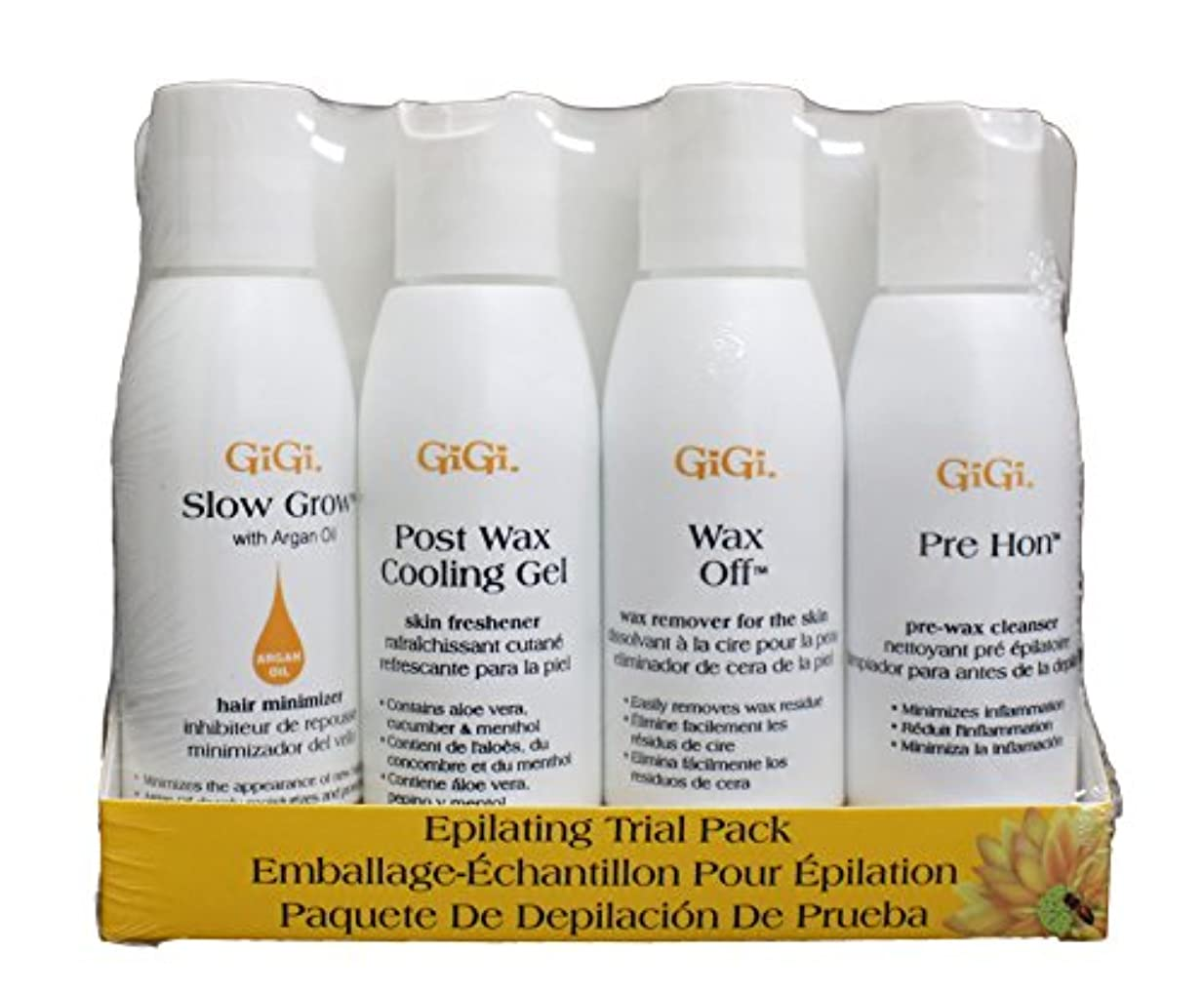 猫背線形よりGIGI Epilating Lotion Pre Trial Pack Trial Pack (並行輸入品)