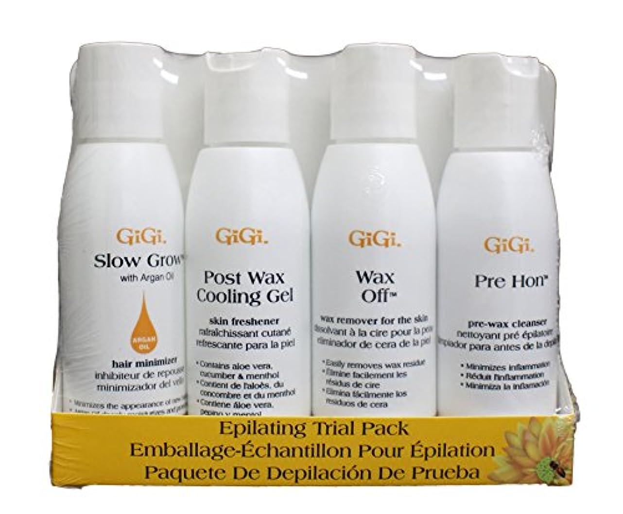 ダース禁止する眼GIGI Epilating Lotion Pre Trial Pack Trial Pack (並行輸入品)