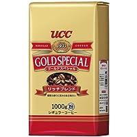 UCC ゴールドスペシャル リッチブレンド コーヒー豆 (粉) 1000g