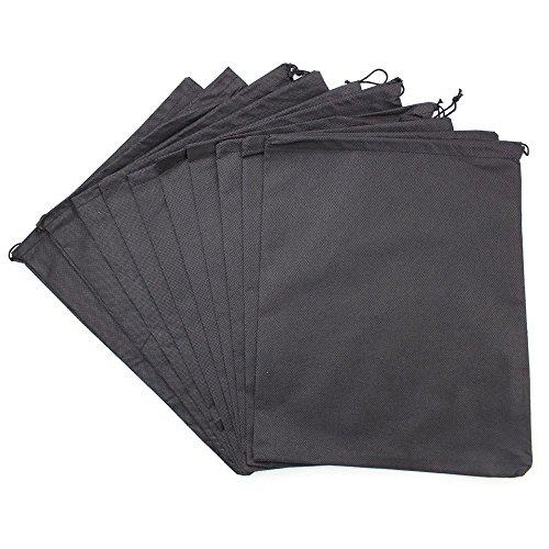 やさしくまもる不織布収納袋, Wady 袋 ブラック 大判 ...