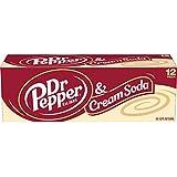 Dr Pepper Cream Soda Cans, 12x355mL