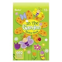 Bulk Buy: Darice Crafts for Kids Sticker Book In The Garden 692 stickers (24-Pack) 106-3147 [並行輸入品]