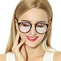 Anti Blue Light Clear Glasses Reduce Eyestrain Computer Glasses Square Frame Optical Glasses Frame GP2202B Matte Gold
