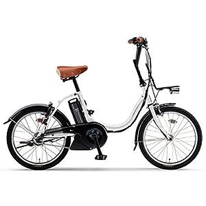 YAMAHA(ヤマハ) 電動アシスト自転車 2017年モデル PAS シティC 20インチ [高容量12.3Ahバッテリー,液晶5ファンクションメーター搭載] PA20CGC7J クリスタルホワイト