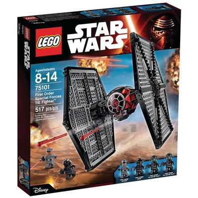 Star Wars(スターウォーズ) First Order Special Forces TIE Fighter Set LEGO 75101 Star Wars おもちゃ One Size【並行輸入】