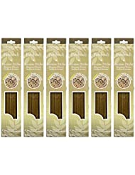 Hosley 300 Incense Sticks /約300 gm。パチュリHighly Fragranced Incense withボーナスホルダー。手Fragranced、Infused with Essential...