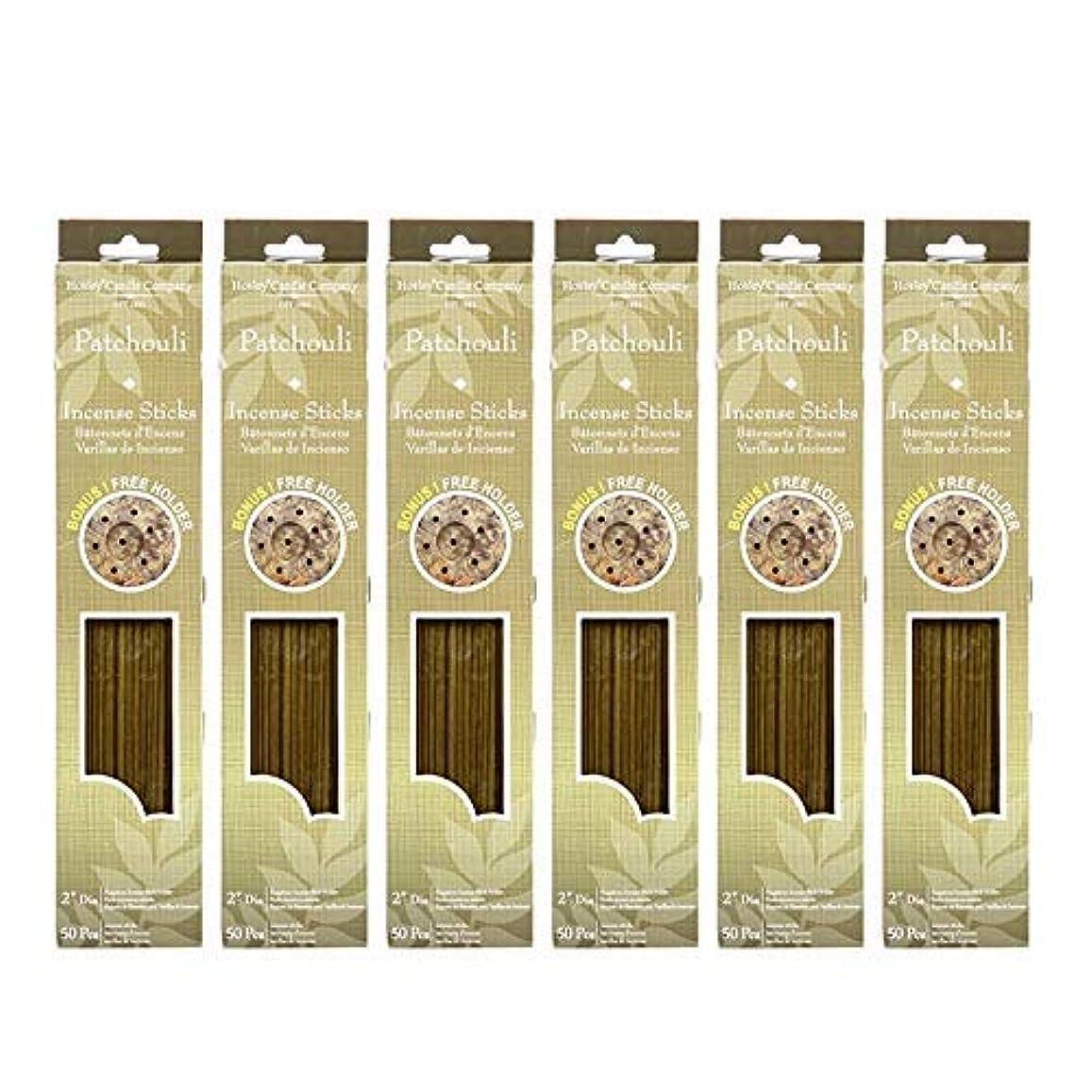 東方アクティビティ夕食を作るHosley 300 Incense Sticks /約300 gm。パチュリHighly Fragranced Incense withボーナスホルダー。手Fragranced、Infused with Essential...