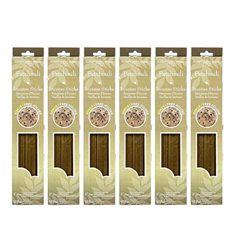 上へマティスいっぱいHosley 300 Incense Sticks /約300 gm。パチュリHighly Fragranced Incense withボーナスホルダー。手Fragranced、Infused with Essential...