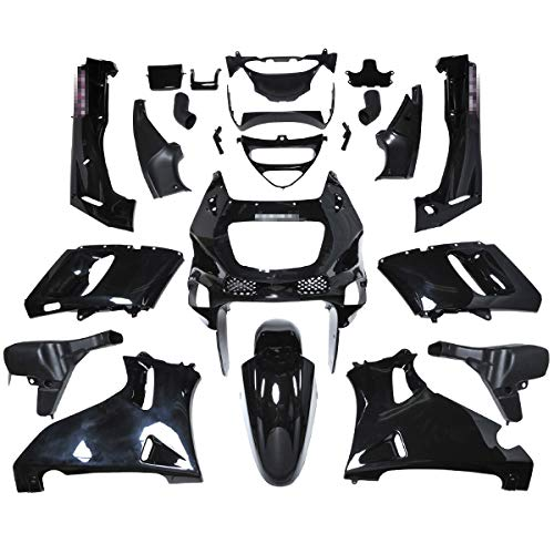 BigOne (ビッグワン) ZZR400 カウル 外装セット バイク ZX400N エボニー 36942
