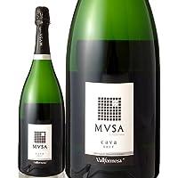 マグナムボトル ムッサ・カヴァ・ブリュットNVヴァルフォルモサ マグナム 1500ml(泡・白) (ワイン(=750ml)9本と同梱可)