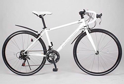 21Technology 700cロードバイク CL27-700 シマノ14段変速 (700ホワイト)
