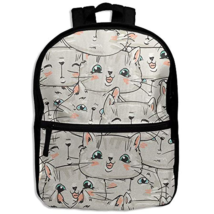 試み関係ない有効なキッズバッグ キッズ リュックサック バックパック 子供用のバッグ 学生 リュックサック 子猫かわいい アウトドア 通学 ハイキング 遠足