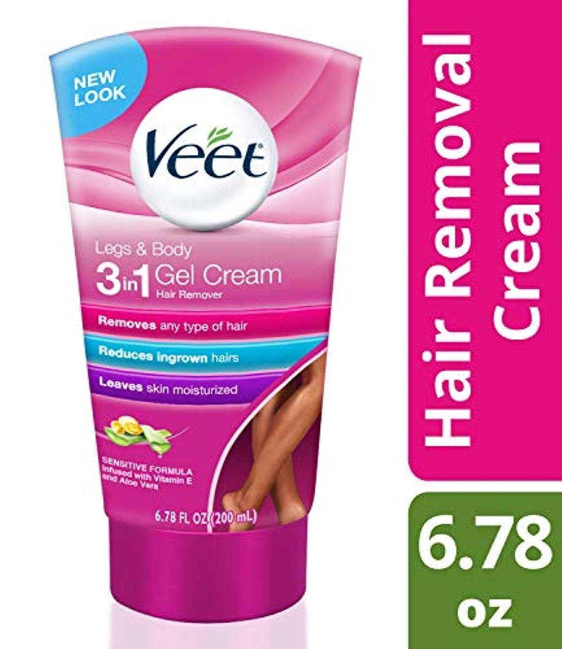 Veet Hair Removal Gel Cream, Sensitive Skin Formula 6.76 oz (並行輸入品)