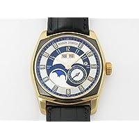 ロジェ・デュブイ ROGER DUBUIS モネガスク パーペチュアルカレンダー RDDBMG0006 ブラック/シルバー文字盤 メンズ 腕時計 【中古】