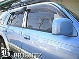BRIGHTZ ハイラックスサーフ 180 185 超鏡面ステンレスメッキピラーパネル バイザー無用 6PC ハイラックス サーフ KZN185W VZN185W KZN185G RZN185W VZN180W RZN180W KDN185W 10977