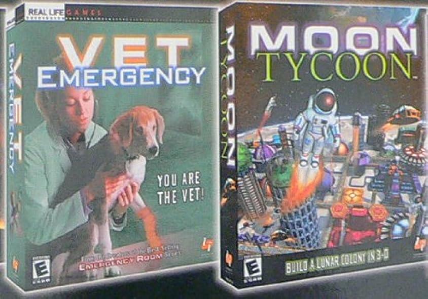 Moon Tycoon / Vet Emergency (Jewel Case) (輸入版)