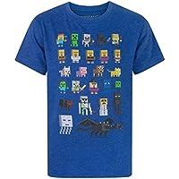 (マインクラフト) Minecraft オフィシャル商品 子供用 半袖 キャラクター Tシャツ 男の子