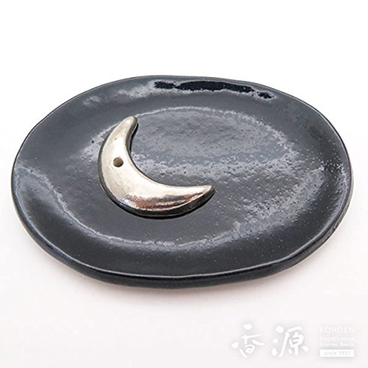 ハーブ実際に好色な京焼 香立?香皿セット 夜空(銀)セット