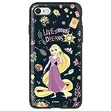 [Galaxy S9] Disney Princess Cheris Slimpack Case iPhone Galaxy 正規品 バンパー カメラ保護 柔らかい TPU PC スマートフォンカバー カード収納 二重構造 スリム スマーホスタンド ミラー付き 〈Rapunzel〉