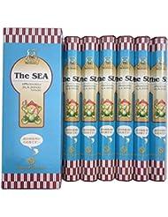 インド香 The SEA ザ?シー 潮風の香り スティック 6個セット シムラン社 成分検査済み