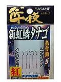 ささめ針(SASAME) N-012 匠技紅虹隣タナゴ糸付 00