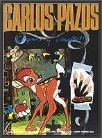 ポスター カルロス パゾス バンビ/Bambi Joan Prats Gallery 1993年 額装品 ウッドベーシックフレーム(ブラック)