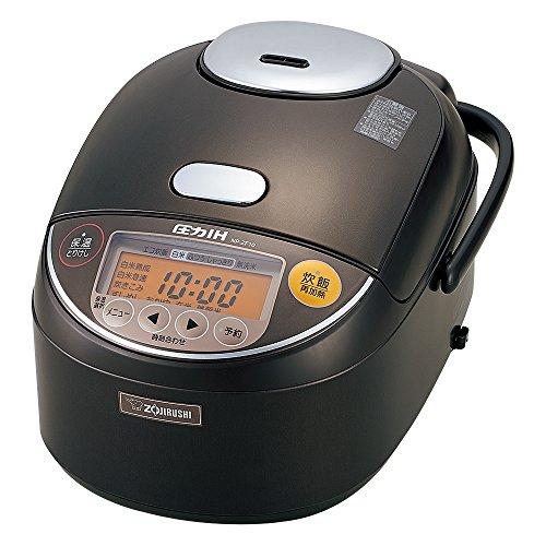 ZOJIRUSHI 圧力IH炊飯器 5.5合 極め炊き ダークブラウン NP-ZF10-TD