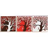 クロスステッチ刺繍キット幸福樹〈三連画〉CSK-297