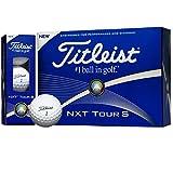 TITLEIST(タイトリスト) NXT Tour S ゴルフボール 12個 2ピース 飛距離&コントロールボール  T4033S-J ホワイト