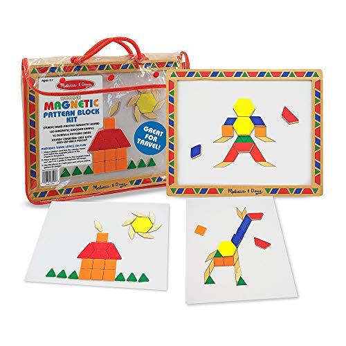 Melissa&Doug『Magnetic Pattern Block Set』