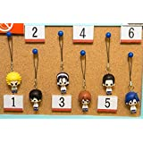 弱虫ペダル GRANDE ROAD 1point mascot 箱根学園 全6種セット ワンポイントマスコット