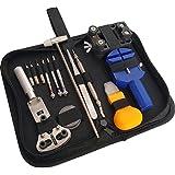 JOBSON 腕時計工具/ 時計修理工具 16点セット ハンマー付 JB480