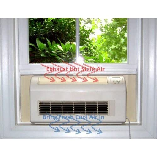 Nature's Cooling Solutions Eco Breeze Smart Window Fan by Nature's Cooling Solutions