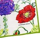 【グリーン】デザイナーズギルド シックな雰囲気ボタニカル花柄★アレキサンドリア バスマット