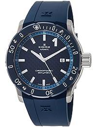 [エドックス]EDOX 腕時計 クロノオフショア1 3針 80099-3BU3-BUIN3 メンズ 【正規輸入品】