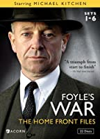 FOYLE'S WAR: SETS 1-6 HOME FRONT FILES