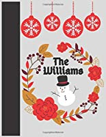 """The Williams: Williams , Journal for Writing, College Ruled Size 8.5"""" x 11"""", 100 Pages"""