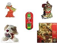 クリスマスFun for Everyoneギフトバンドル[ 5Piece ]–Holiday Decor–アクセサリー–ギフトアイテム–Item No dbund-xmas-3858